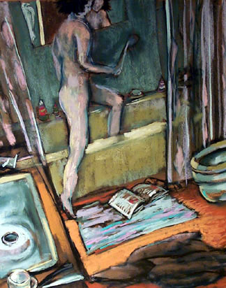 Evening Shower - price - contact the artists - ric@schmitt-hall-studios.com for list