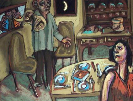 Honest, Honey- price - contact the artists - ric@schmitt-hall-studios.com for list