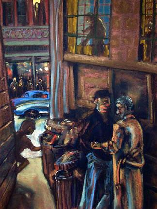 Businessmen - price - contact the artists - ric@schmitt-hall-studios.com for list
