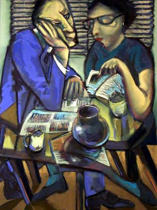 Evening Review - price - contact the artists - ric@schmitt-hall-studios.com for list