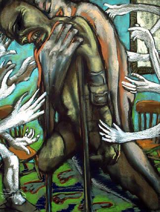 Helping Hands - price - contact the artists - ric@schmitt-hall-studios.com for list