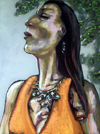 Sacagawea - price - contact the artists - ric@schmitt-hall-studios.com for list