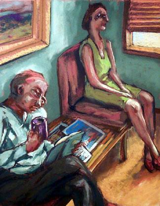 Surreptitious Glance - price - contact the artists - ric@schmitt-hall-studios.com for list