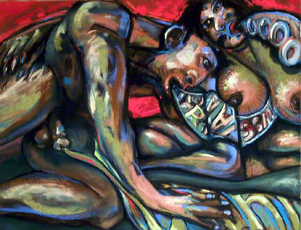 Talking Heads II  - price - contact the artists - ric@schmitt-hall-studios.com for list